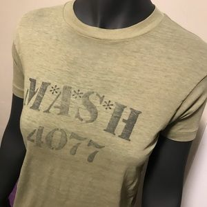 Tops - Vintage M*A*S*H 4077 T-Shirt  (Tee Jays)